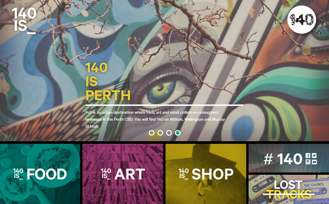 140 William Street Art Website